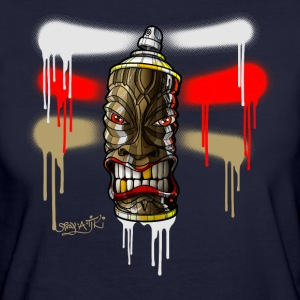 SPRAY A TIKI iii-a01rb-07 T-Shirts - Frauen Bio-T-Shirt