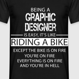 Graphic Designer T-Shirts - Men's T-Shirt