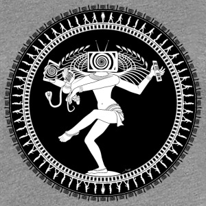 Manipulated Shiva T-Shirts - Frauen Premium T-Shirt