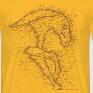 T-SHIRT-HOMME-POUPOUSSEPI-Cheval-3 Tee shirts - T-shirt Homme