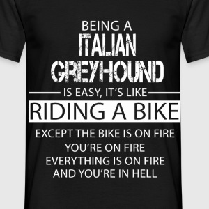 Italian Greyhound T-Shirts - Men's T-Shirt