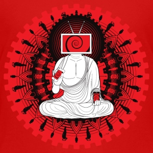 Manipulated Buddha Shirts - Teenage Premium T-Shirt