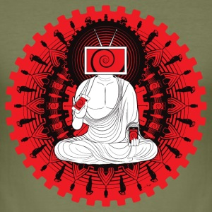 Manipulated Buddha T-shirts - slim fit T-shirt