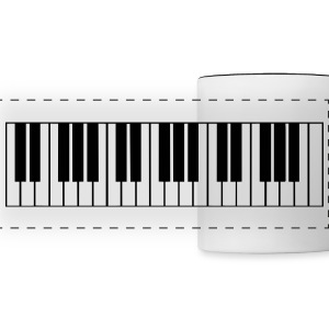 piano, piano keyboard Mugs & Drinkware - Panoramic Mug