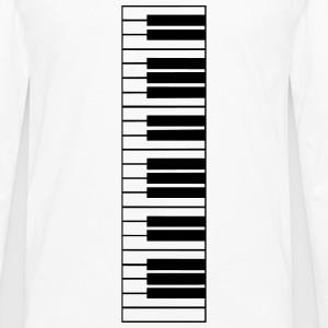 piano, piano keyboard Manches longues - T-shirt manches longues Premium Homme