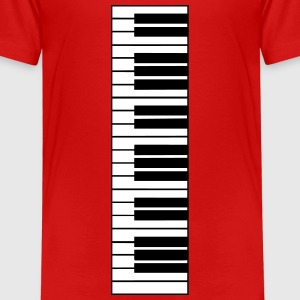 piano, piano keyboard Skjorter - Premium T-skjorte for barn
