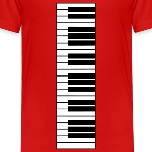 piano, piano keyboard Shirts - Kids' Premium T-Shirt