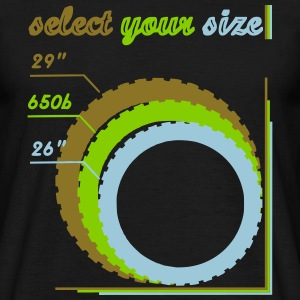 Choice_your_size_2 T-Shirts - Men's T-Shirt