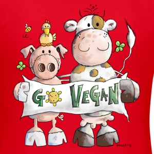 Go Vegan T-Shirts - Women's T-Shirt