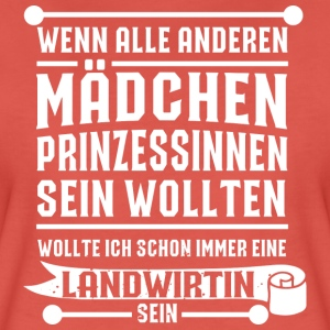 KeinePrinzessinLandwirtin T-Shirts - Frauen Premium T-Shirt