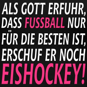 fussball vs eishockey T-Shirts - Frauen Premium T-Shirt