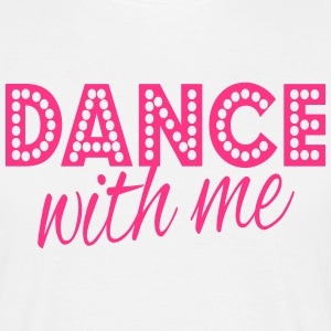dance with me T-shirts - Herre-T-shirt