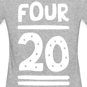 FOUR TWENTY T-Shirts - Frauen Bio-T-Shirt
