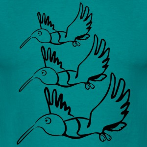 Bird fly formation fun T-Shirts - Men's T-Shirt