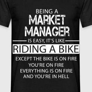 Market Manager T-Shirts - Men's T-Shirt