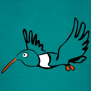 Bird flying funny T-Shirts - Men's T-Shirt
