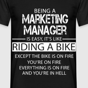 Marketing Manager T-Shirts - Men's T-Shirt