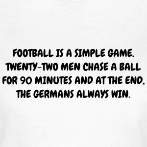 Football - Fußball - Fútbol - Calcio - Foot - Cool T-shirts - Vrouwen T-shirt