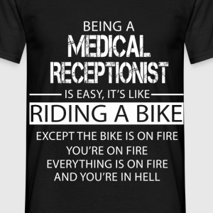 Medical Receptionist T-Shirts - Men's T-Shirt