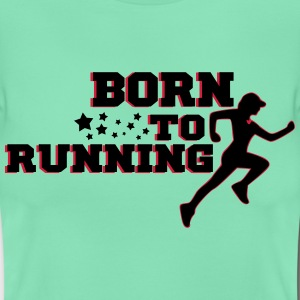 BORN TO RUNNING WOMAN Tee shirts - T-shirt Femme