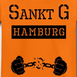 Ghetto-Jail Sankt Georg Hamburg T-Shirts - Teenager Premium T-Shirt