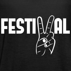 festival peace Musik Konzerte Party feiern Tops - Frauen Tank Top von Bella