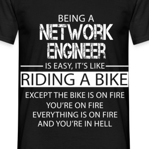 Network Engineer T-Shirts - Men's T-Shirt
