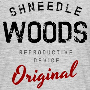 Schneedle Woods - Men's T-Shirt
