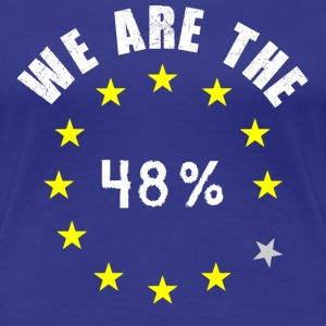 We are the 48% Womens top - Women's Premium T-Shirt