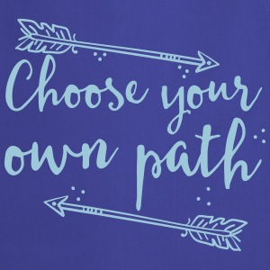 choose your own path with arrow  Aprons - Cooking Apron