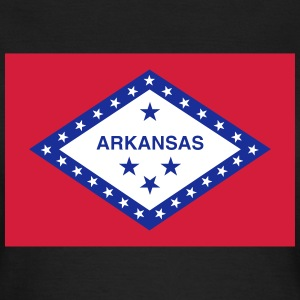 Flag Arkansas T-shirts - Dame-T-shirt