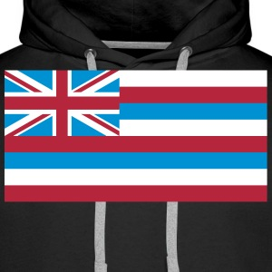 Flag Hawaii Sweat-shirts - Sweat-shirt à capuche Premium pour hommes