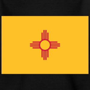 Flag New Mexico Shirts - Kinderen T-shirt