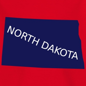 North Dakota Shirts - Kinderen T-shirt