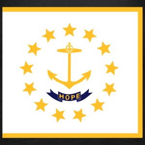 Flag Rhode Island Tops - Frauen Premium Tank Top