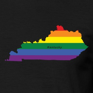 kentucky rainbow flag T-Shirts - Men's T-Shirt