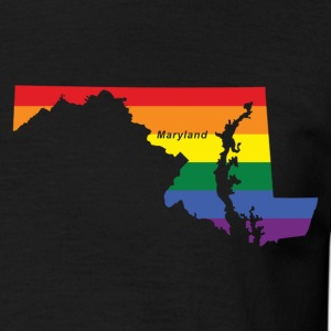 maryland rainbow flag T-Shirts - Men's T-Shirt