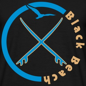 Black Beach T-Shirts - Männer T-Shirt