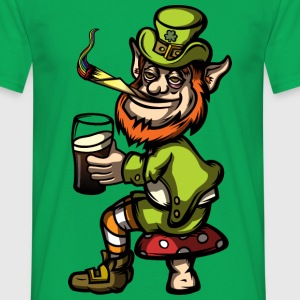 Stoned Leprechaun - Men's T-Shirt