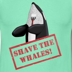 Shave the Whales - Men's T-Shirt