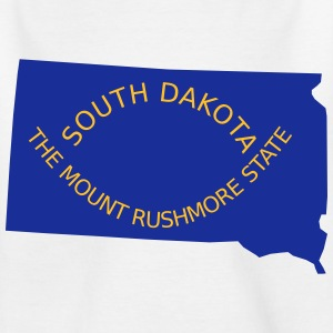 South Dakota T-shirts - Børne-T-shirt