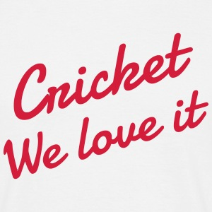 Cricket - Cricketer - Sport - Kricket - Wicket T-shirts - Mannen T-shirt