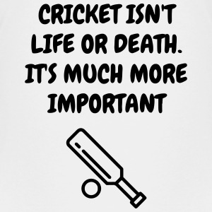 Cricket - Cricketer - Sport - Kricket - Wicket Shirts - Teenage Premium T-Shirt