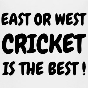 Cricket - Cricketer - Sport - Kricket - Wicket T-shirts - Premium-T-shirt barn