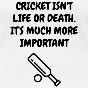 Cricket - Cricketer - Sport - Kricket - Wicket T-shirts - Premium-T-shirt dam