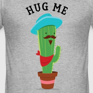 Hug Me (Cactus) T-shirts - slim fit T-shirt