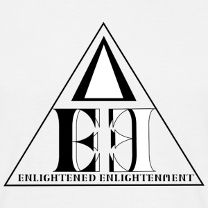 Enlightened Enlightment - Triple Triangle - B&W T-Shirts - Männer T-Shirt