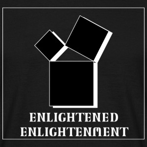 Enlightened Enlightement - Triple Square - W&B T-Shirts - Männer T-Shirt