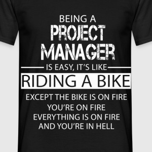 Project Manager T-Shirts - Men's T-Shirt