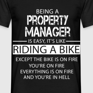 Property Manager T-Shirts - Men's T-Shirt